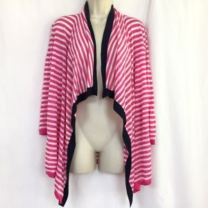 Cynthia Rowley Open Front Cardigan Sweater M